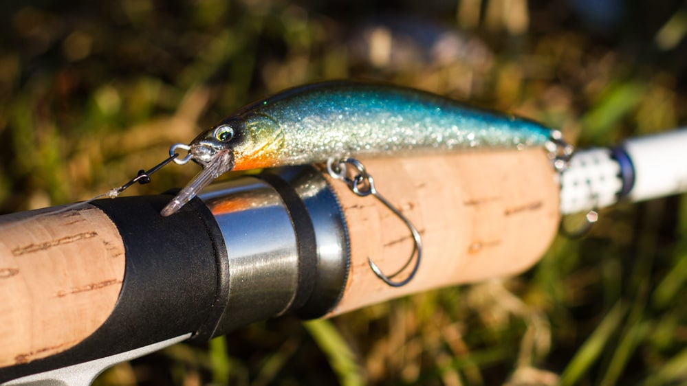 Die Three Shot Minnow von Fish Arrow