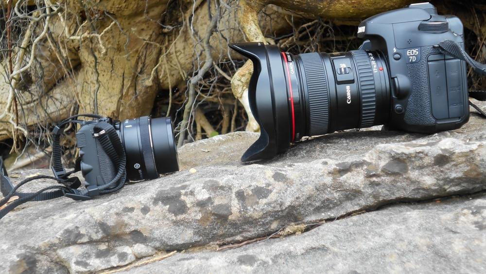 Nikon 1 J5 vs Canon 7D