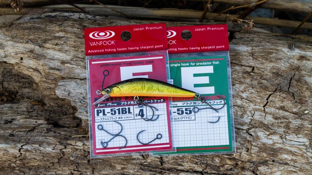 Fisharrow Three Shot Minnows