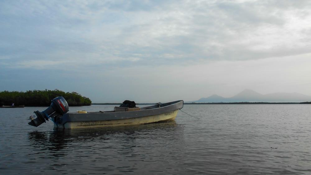 Der Fischerhafen von Corinto