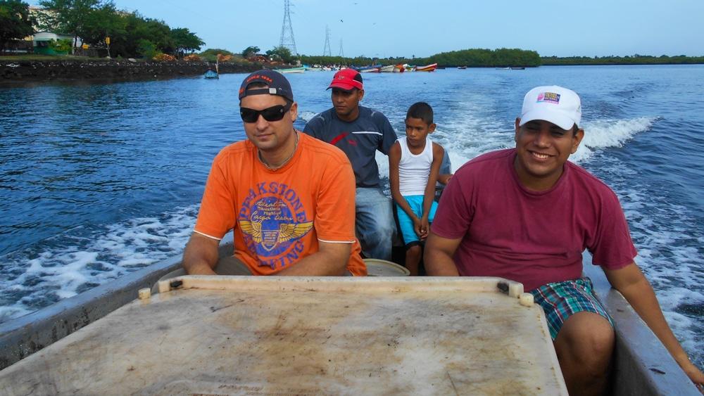 Diemo, der Fischer und sein Sohn und Marlon