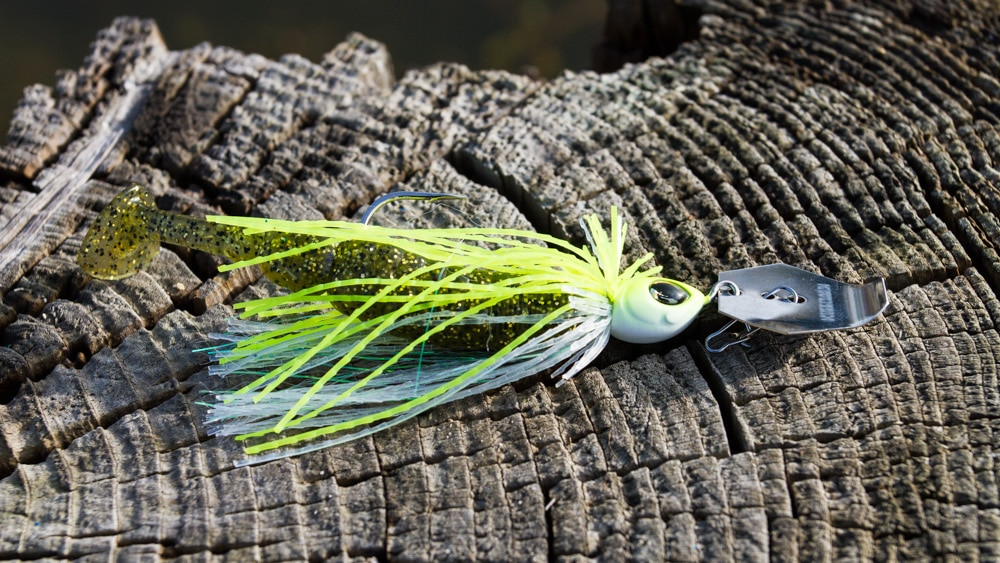 "TT Shad 3.2"" am Geecrack Swing Chatter 7 g"