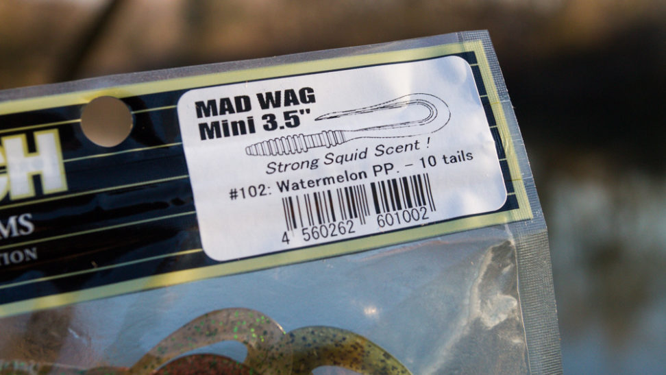 "Keitech - Mad Wag 3,5 """