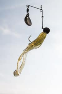 Spinnerbait mit Bait Breath SL Remix