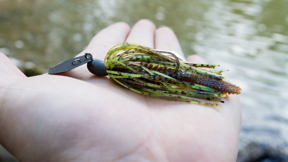 Fish Arrow Chatterbait mit Noike Wild Goby als Trailer