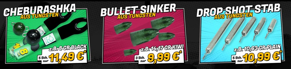 Green Angler Tungsten