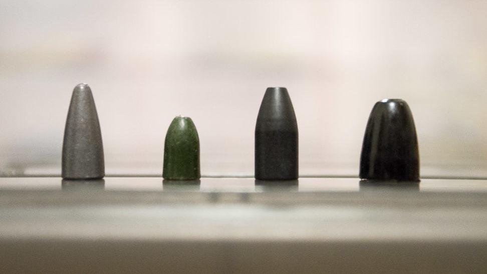 Blei, Tungsten, Messing oder doch Stahl?